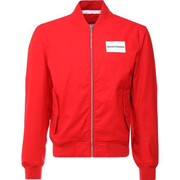 d6a1aba50 Calvin Klein Jeans INSTITUTIONAL LOGO Kurtka Bomber red - Kurtki ...