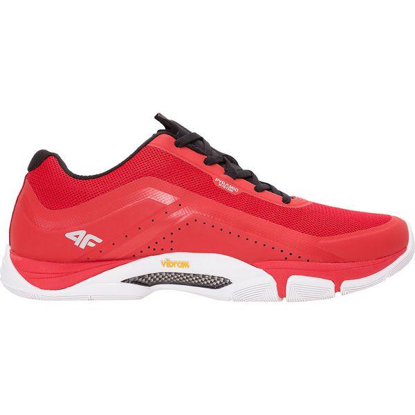 Tylko na zewnątrz Buty sportowe męskie OBMS102 - czerwony - Czerwone buty do HR62