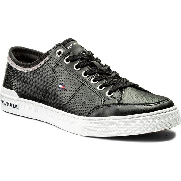 7d46574699 Sneakersy TOMMY HILFIGER - Core Corporate Leather Sneaker FM0FM01497 ...