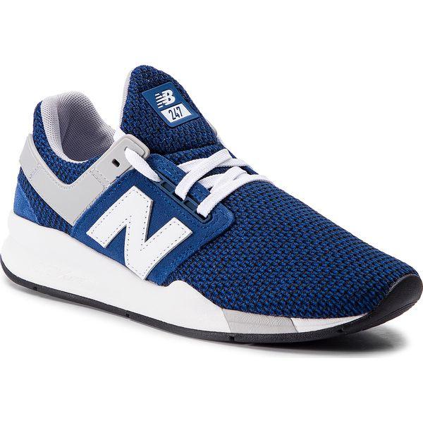 55900ebd6 Sneakersy NEW BALANCE - MS247FK Granatowy - Buty sportowe na co ...