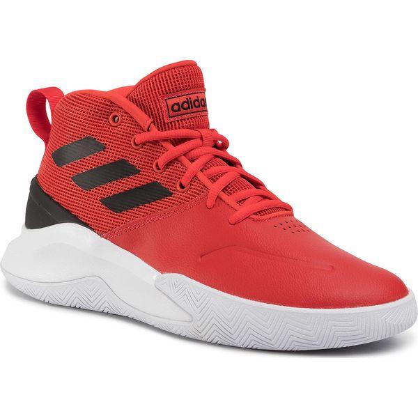 Buty adidas Ownthegame EE9635 ActredCblackFtwwht