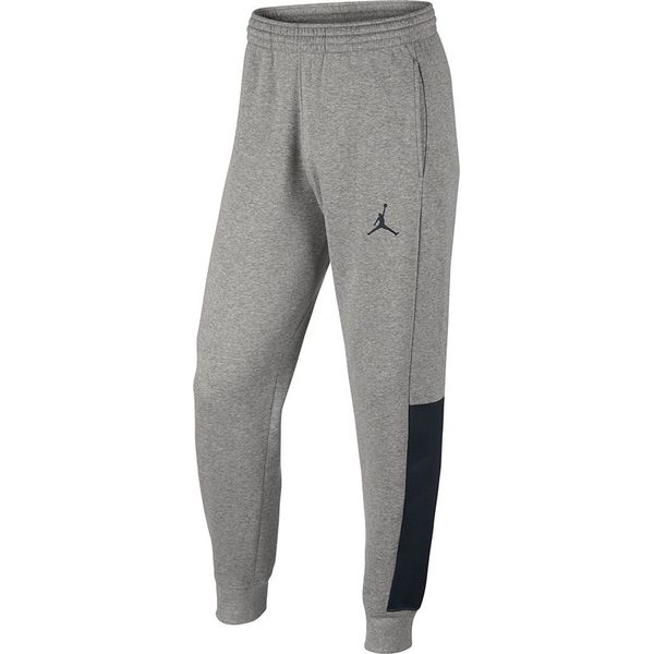 2d6d1923e23ffa Nike Spodnie męskie Jordan Men`s Flight Fleece With Cuff Pant szary ...