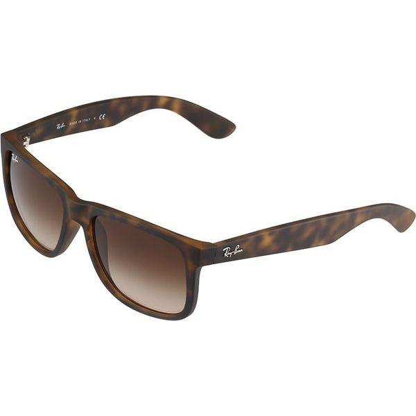 0945c0fd2e0b Rayban Justin Okulary Przeciwsłoneczne Dark Brown Brązowe Okulary