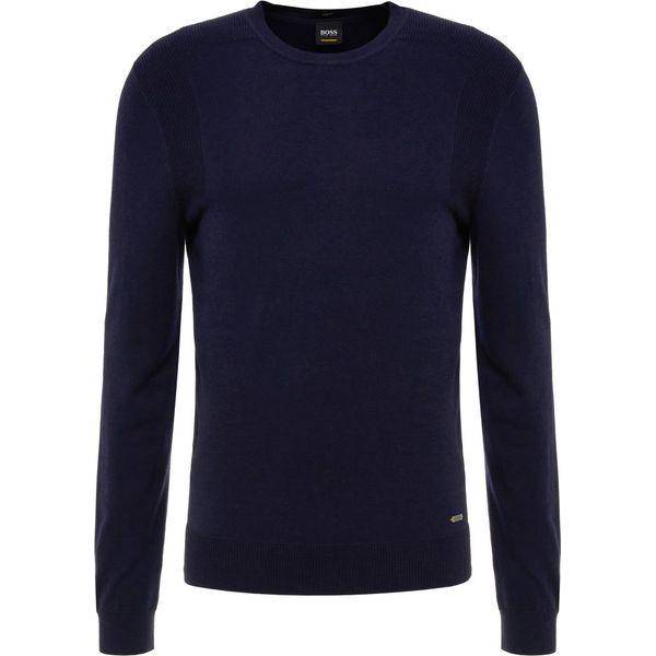 2e4928d1451e1 BOSS CASUAL KOSAWIROS Sweter dark blue - Swetry męskie marki BOSS ...