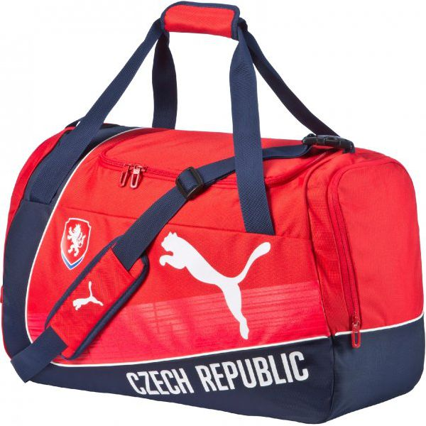 b03ec76f03bb0 Puma Torba Sportowa Czech Republic Evopower Medium Bag Red-White ...