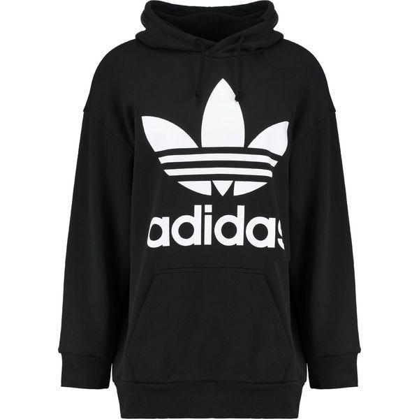 0c398a5440668 adidas Originals TREF OVER HOOD Bluza z kapturem black - Bluzy ...