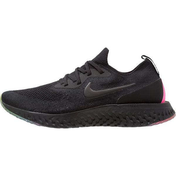 cheap for discount cb900 8c015 Nike Performance EPIC REACT FLYKNIT BE TRUE Obuwie do biegania treningowe  black/pink blast/purple pulse - Buty treningowe męskie marki Nike  Performance.