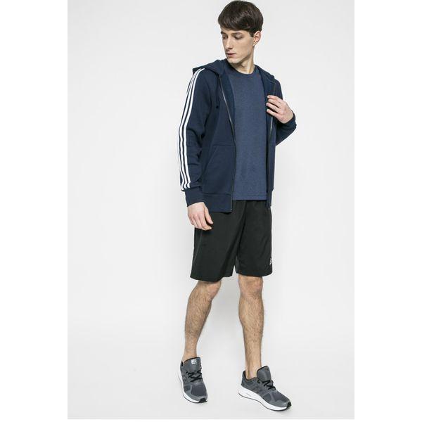3100e3616 adidas Performance - Bluza Ess 3S - Bluzy rozpinane męskie adidas ...