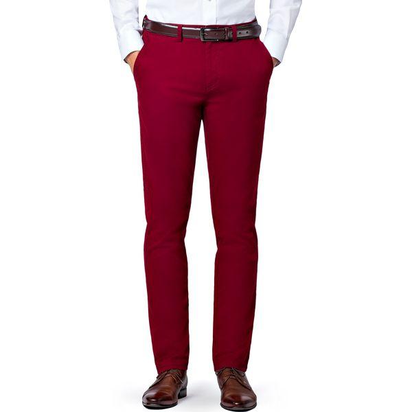 218d9e52 Spodnie Bordowe Chino Mono II