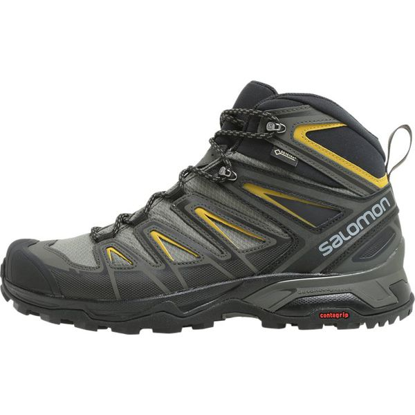 6f6be24b Salomon X ULTRA 3 MID GTX Buty trekkingowe castor gray/black/green ...