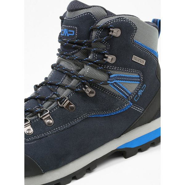 98192909 CMP ARIETIS Buty trekkingowe black/blue - Niebieskie buty ...