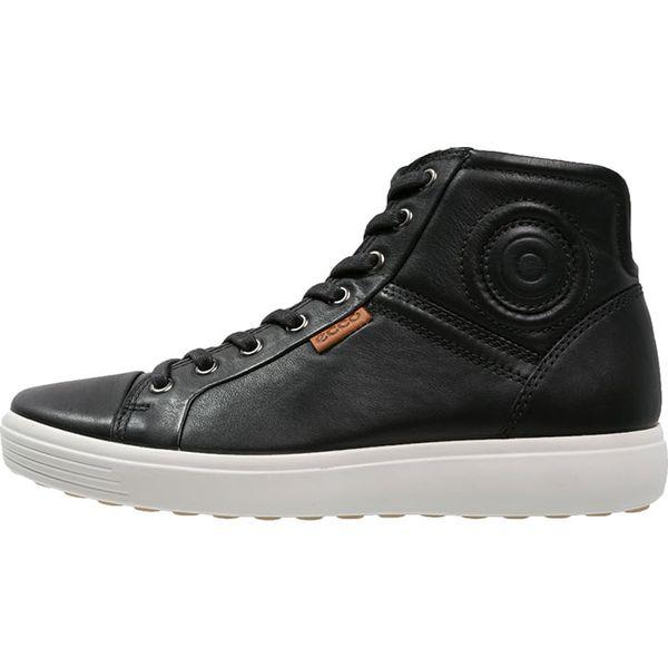 fe982587 ecco SOFT 7 Sneakersy wysokie black - Buty sportowe na co dzień ...