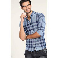 Moda dla mężczyzn ze sklepu Limango.pl - Kolekcja zima 2019. -46%. Koszula  w kolorze błękitnym ze wzorem. Koszule męskie marki Philip Loren. W  wyprzedaży za d3f93554f83