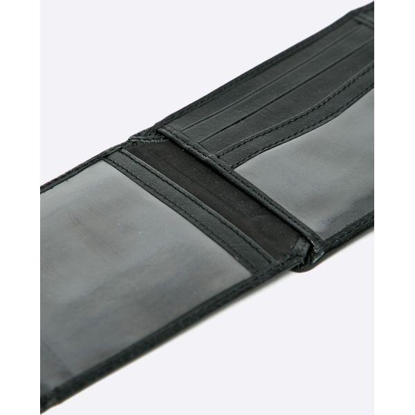 8c42a8aa89606 Wojas - Portfel skórzany - Czarne portfele męskie marki Wojas, z ...