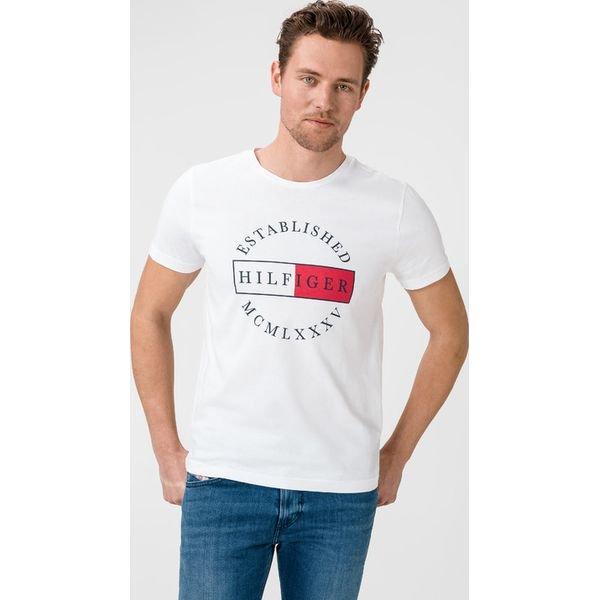 Tommy Hilfiger Corp Circular Koszulka Biały