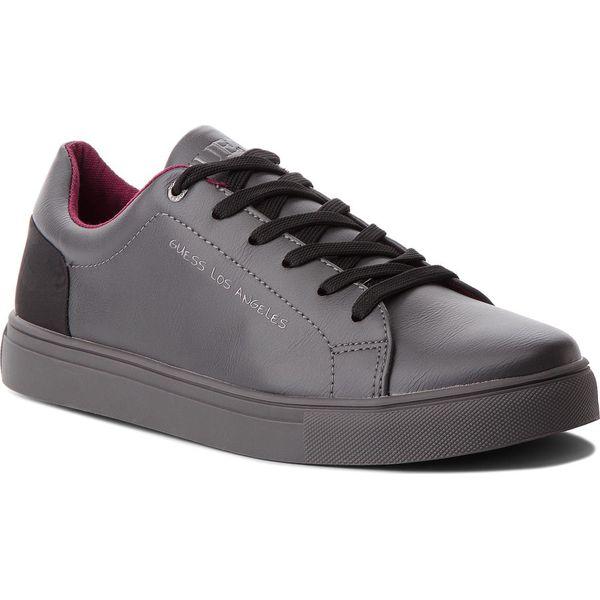 fbe9ad6f22791 Sneakersy GUESS - FMLUI3 LEA12 GREY - Buty sportowe na co dzień ...
