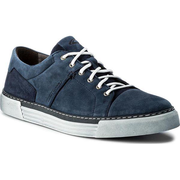 5abb99538308f Sneakersy CAMEL ACTIVE - Racket 460.12.02 Jeans - Niebieskie buty sportowe  na co dzień męskie marki Camel Active, z jeansu, eleganckie.