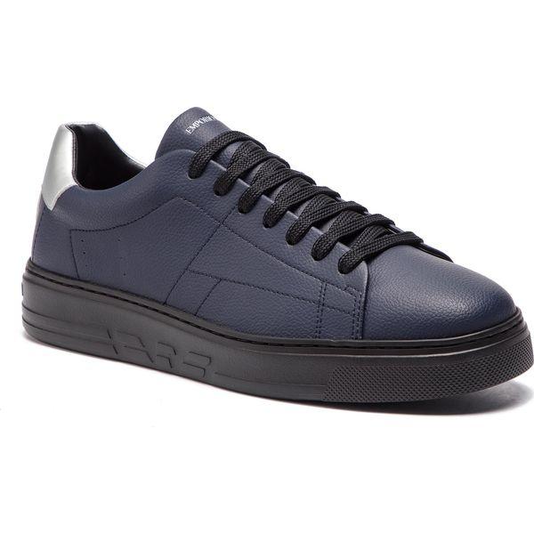 d52bb3c14a33b Sneakersy EMPORIO ARMANI - X4X226 XL704 C432 Night/Silver - Buty ...