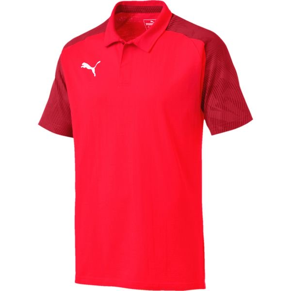 Puma Cup Sideline Polo Koszulka Czerwony