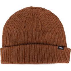 Pomarańczowe czapki męskie Kolekcja zima 2020 Sklep