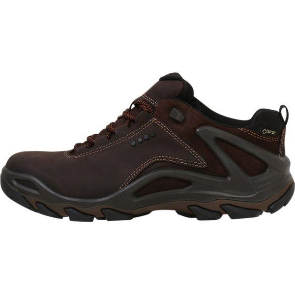 2cab5e34 ecco TERRA EVO Półbuty trekkingowe brown - Brązowe buty trekkingowe ...
