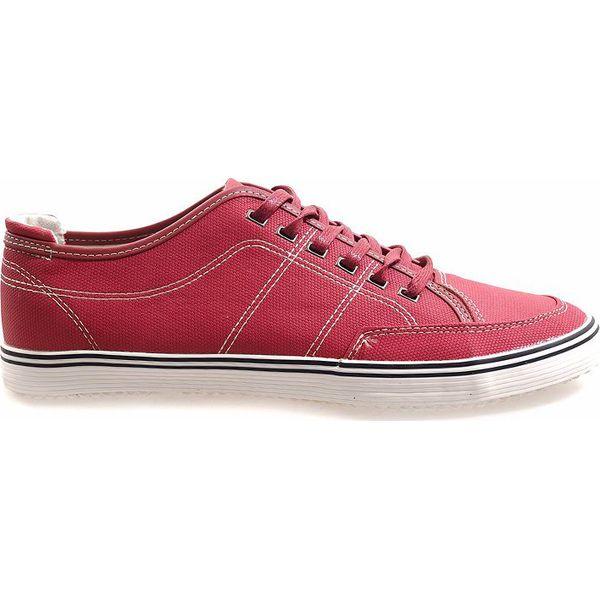 Czerwone męskie trampki TL235 4