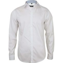 Biała Elegancka Koszula Wizytowa na Spinki BELLO  l0HYp