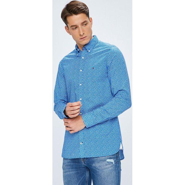 206a09eab Tommy Hilfiger - Koszula - Niebieskie koszule męskie marki Tommy ...