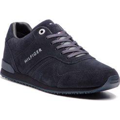 ec71a24371cb9 Sneakersy TOMMY HILFIGER - Iconic Suede Runner FM0FM02043 Midnight 403. Buty  sportowe na co dzień