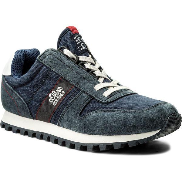 bb753323 Sneakersy S.OLIVER - 5-13634-20 Navy 805 - Niebieskie buty sportowe na co  dzień męskie S.Oliver, z materiału. W wyprzedaży za 199.00 zł.