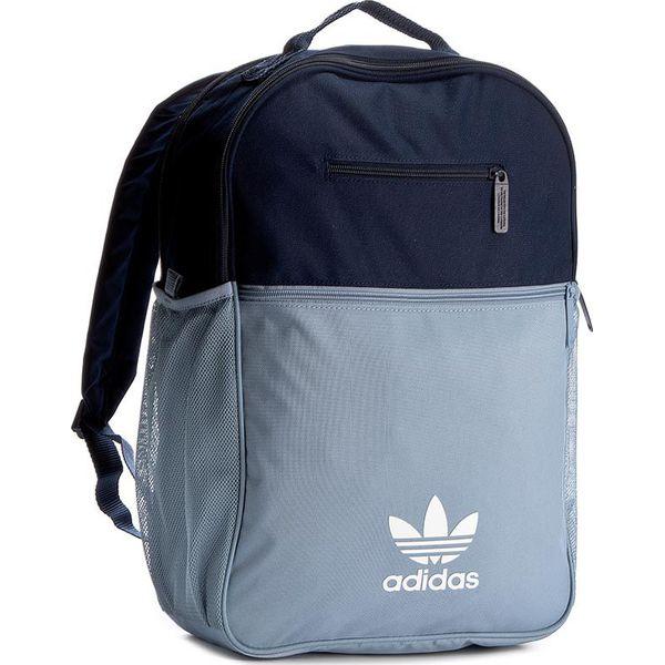 ec9a9cdd60a41 Plecak adidas - Bp Ess Trefoil BK6718 Conavy/Tacblu - Niebieskie ...