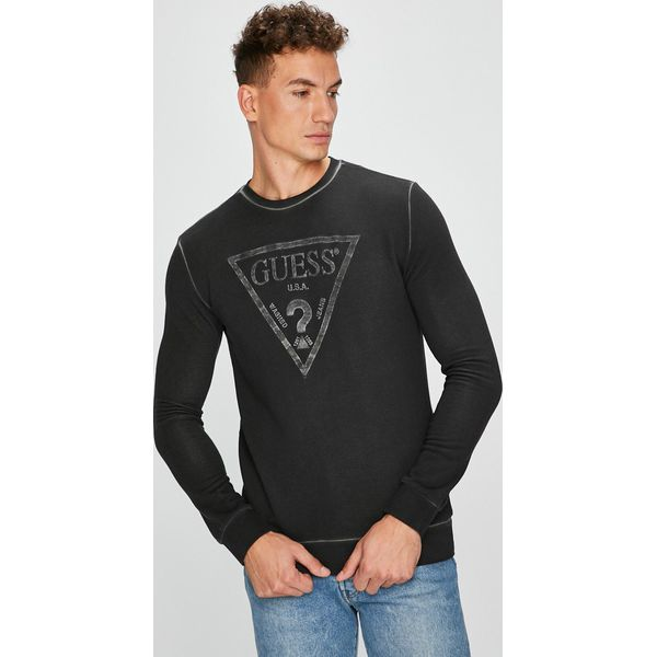 aa3b4051cee89 Guess Jeans - Bluza - Bluzy nierozpinane męskie marki Guess Jeans. W  wyprzedaży za 299.90 zł. - Bluzy nierozpinane męskie - Bluzy sportowe męskie  - Odzież ...