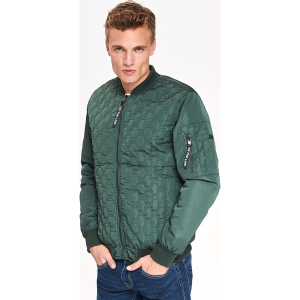 3a7c3b80d8eb8c Zielone kurtki męskie ze sklepu Top Secret - Kolekcja lato 2019 - Sklep  Antyradio.pl