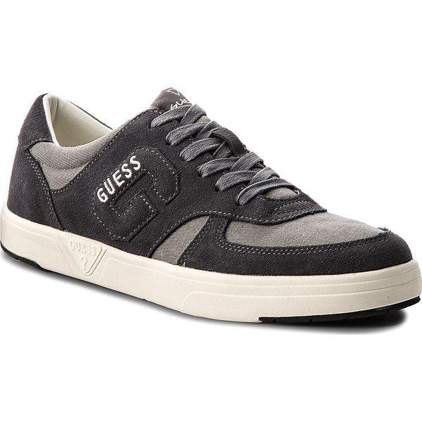 3cb8faf9cfe00 Sneakersy GUESS - Derrik FMDER1 LEA12 DGREY - Buty sportowe na co ...