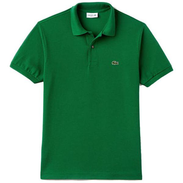 tani sprzedaż usa online innowacyjny design Koszulka polo w kolorze zielonym