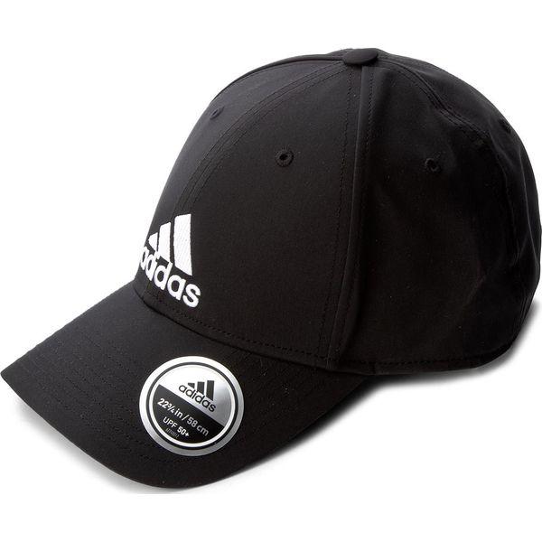 bf06c47a7 Czapka z daszkiem adidas - 6Pcap Ltwgt Emb S98159 Black/Black/White ...