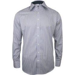 Biała Koszula Męska z Długim Rękawem, 100% Bawełna CHIAO  UGPad