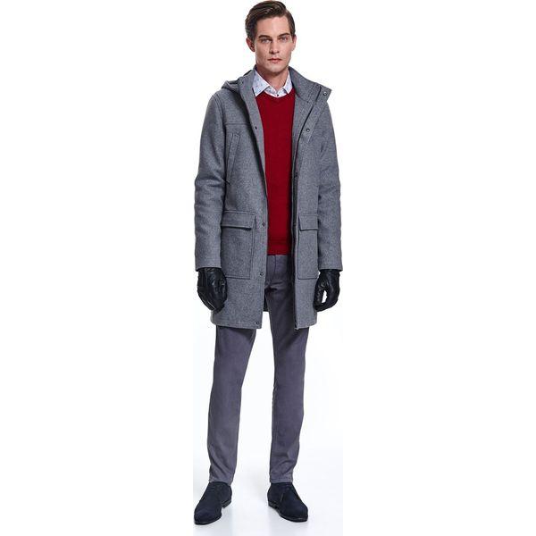 Płaszcz płaszcz wełniany typu budrysówka typu budrysówka