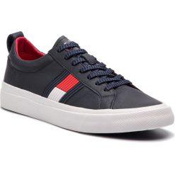 3ae5b825eae0b Obuwie męskie. 249.00 zł. Sneakersy TOMMY HILFIGER - Flag Detail Leather  Sneaker FM0FM01712 Midnight 403. Buty sportowe na co