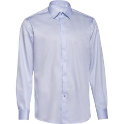c7a71989d10179 Koszula męska Satynowa z lamówkami Błękit. Koszule męskie VEVA. Za 179.00  zł.