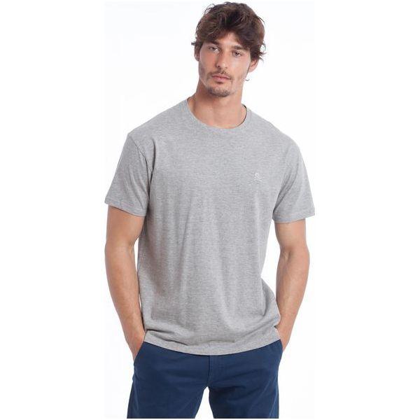 dc81bd85b3cf5c Polo Club C.H.A T-Shirt Męski Xxl Szary - Szare koszulki polo męskie ...
