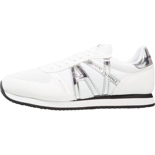 14e5ef7af22de Armani Exchange RETRO RUNNER Sneakersy niskie white - Buty sportowe ...