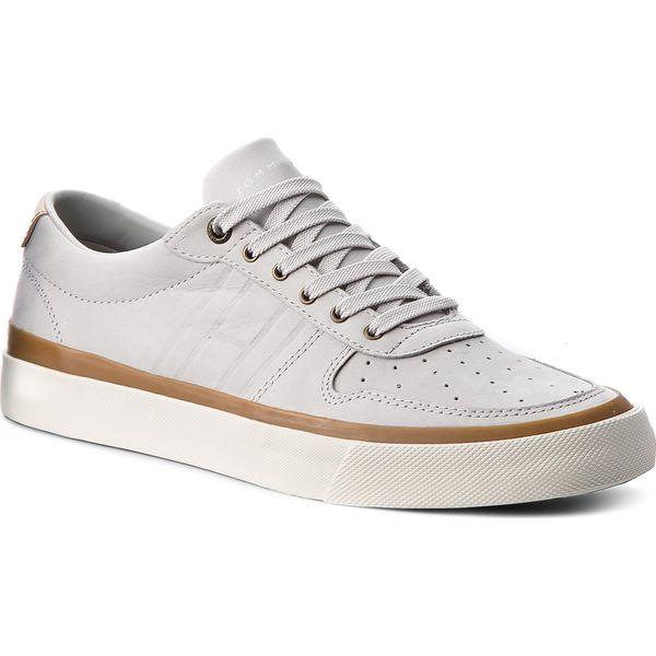 bd7fc6cfc0b11 Sneakersy TOMMY HILFIGER - Unlined Low Cut Nubuck Sneaker FM0FM01633 ...