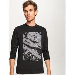 ea95c3b4054ce Bluza z nadrukiem - Czarny. Bluzy nierozpinane męskie marki Reserved. Za  119.99 zł.