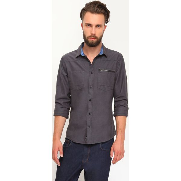 02128b2e1ae25b KOSZULA DŁUGI RĘKAW MĘSKA - Koszule męskie DRYWASH. W wyprzedaży za ...