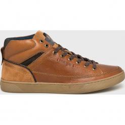 Brązowe buty sportowe męskie Wrangler, bez rękawów
