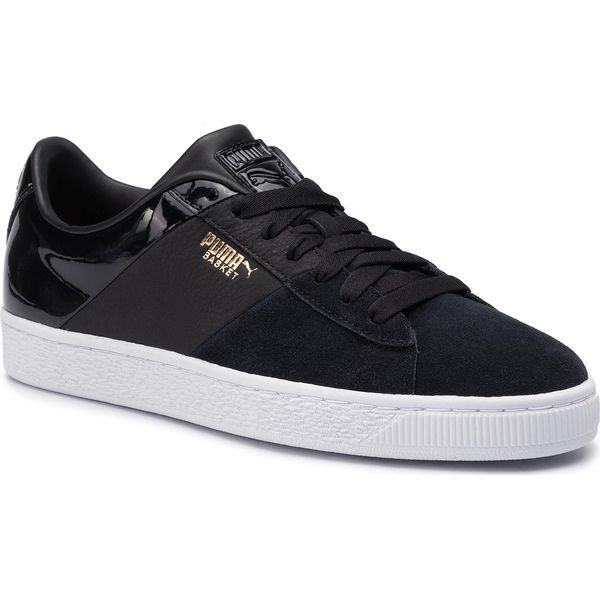 Sneakersy PUMA Basket Remix Wn's 369956 02 Black