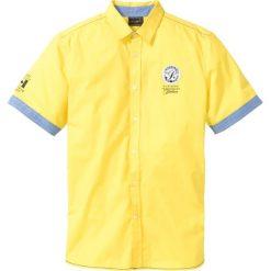 Żółte koszule męskie ze sklepu , bez rękawów