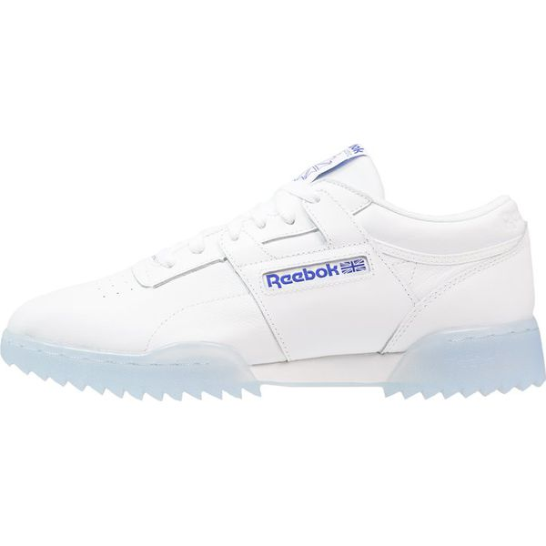 33cab48212 Reebok Classic WORKOUT CLEAN RIPPLE Sneakersy niskie white acid blue ...