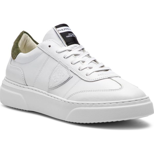Sneakersy PHILIPPE MODEL Temple BALU V024 Blanc Militaire